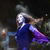 """Singer Malú during """"Night of Cadena 100"""" in Madrid. 04/09/2016"""